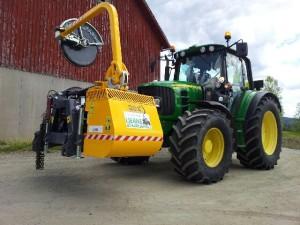 Traktor med