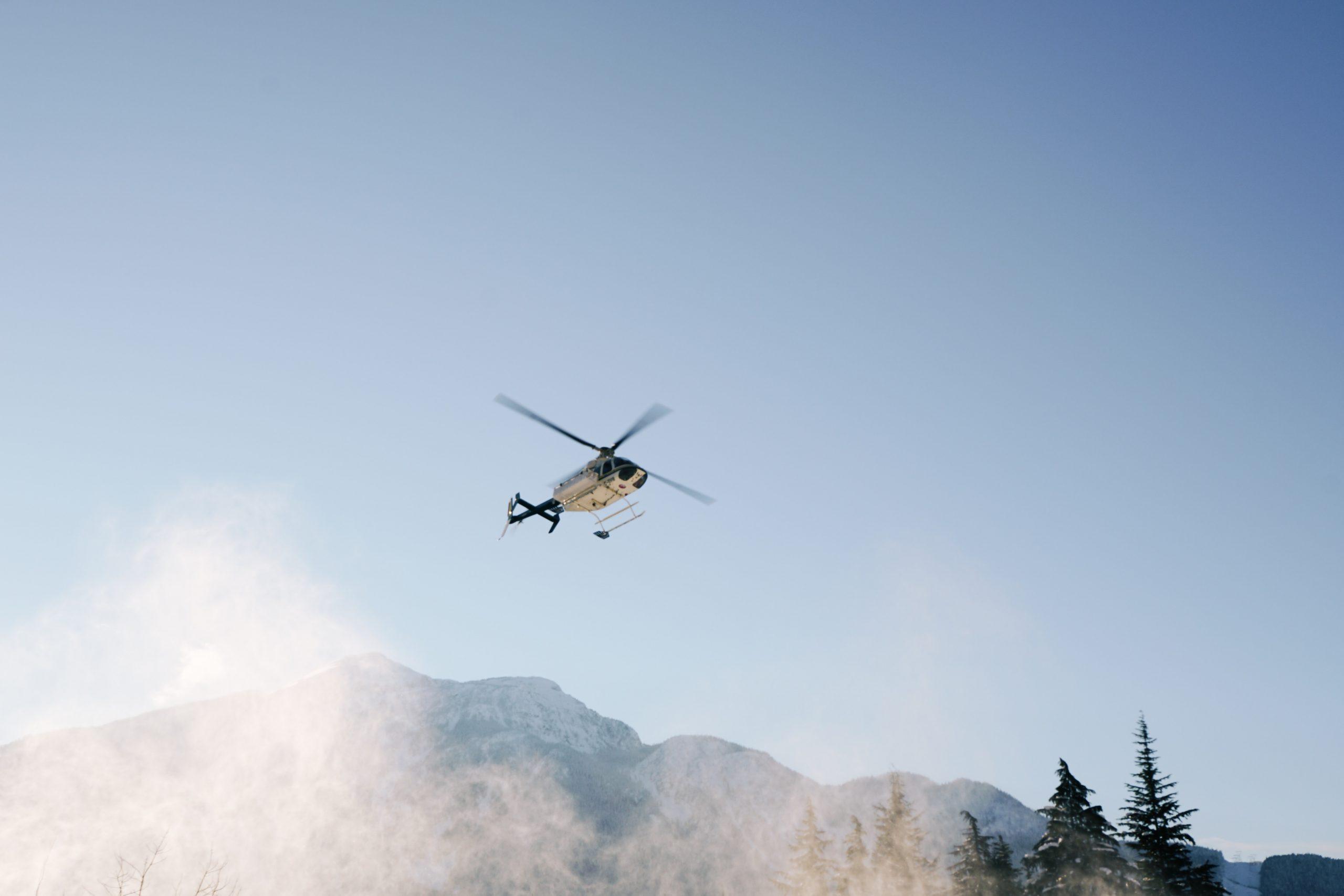 Lansering av helikoptertransport